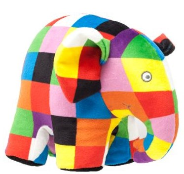 Rainbow Designs Elmer Soft Toy (Two Sizes)